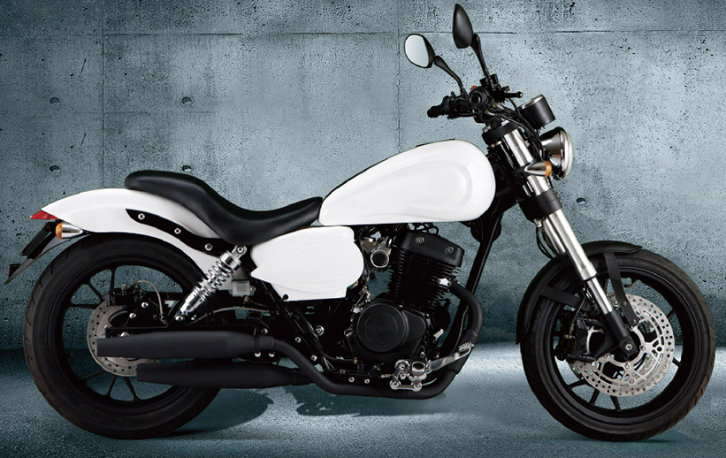 The new generation of popular,classical and large power 400cc gas motorcycle