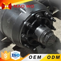 Manufucturer wholesale best quality heavy 13 16ton semi trailer axles