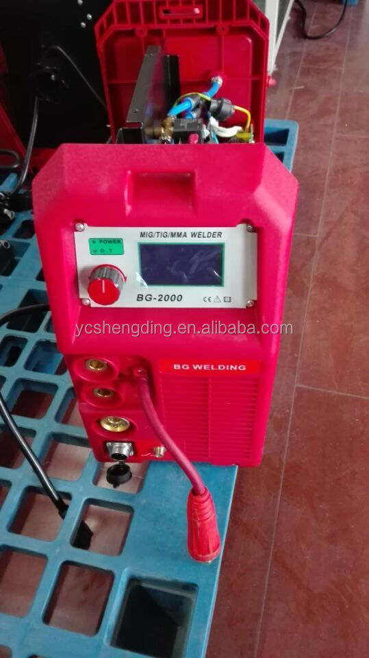 Highly Efficient Machine Tool Equipment 200A Cheap Mig Welders For Sale