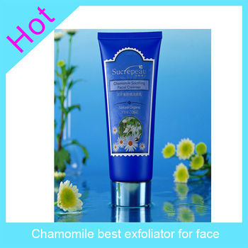 Chamomile best exfoliator for face