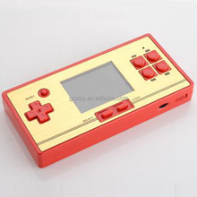 2.6 inch color screen FC pocket game handheld game console with cartridge