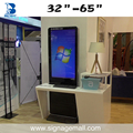 43 inch indoor android and touch floor stand digital signage