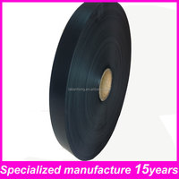 black non-adhesive pvc insulation tape log roll for flexible duct
