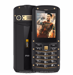 Customized old man mobile phone ultra slim feature phone agm m2 golden dual sim card 2g old man phone with big keypad