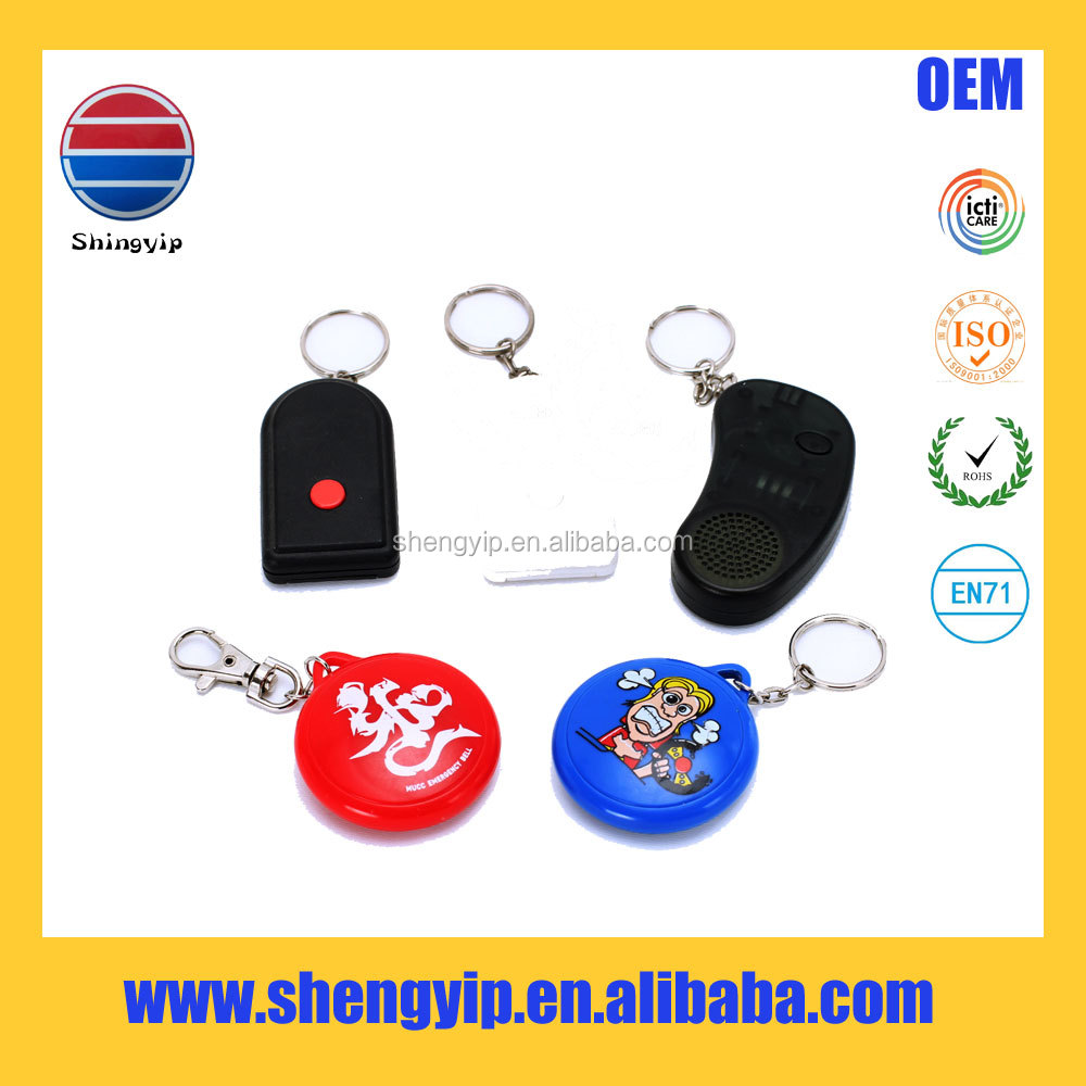 Hot sale OEM custom ABS plastic recordable sound keychain with sound effect