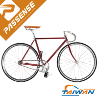 Candy Red fixed gear Taiwan bike factory Passense fixie bike