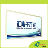610gsm 300D*500D 18*12 PVC Flex Media Advertisement Board Design