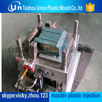 Injection plastic refrigerator drawer mould