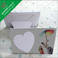 Birthday souvenir eco-friendly materials frame toy photo frames love