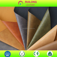 Yangbuck pu leather raw material sofa handbags and shoes material