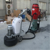 ASL-T8 New condition and12 heads 650MM Grinding Width Gear Driving Planetary Disc Floor Grinder with Nozzle and LED manufacture