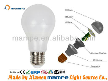 7W PC Plastic LED lamp