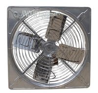 Hanging type exhaust /ventilation fan for cowhouse with stainless steel blades