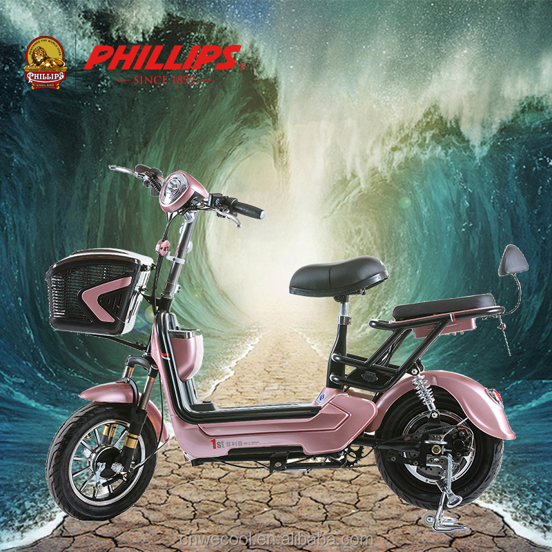 PHILLIPS dubai mini mobility fat tire electric motor new style 2 seat mobility cheap electric scooter 2017 for adults china