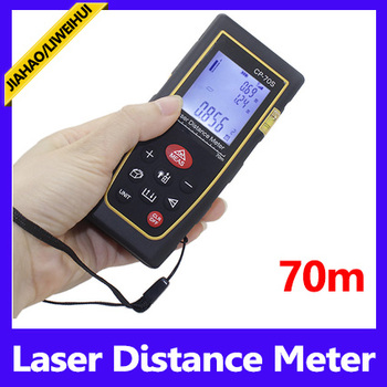 Digital measuring device 70M Buzzer Indicator digital laser point distance meter