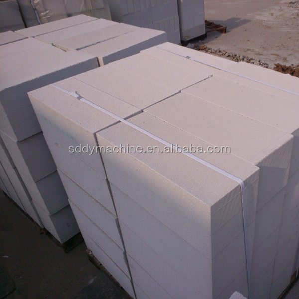 Wodely used building material white lightweight concrete block