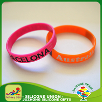 Free sample custom cheap engraved silicone wristband bracelet