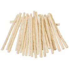 colorful healthy dog bully stick rawhide munch dog treat in high quality