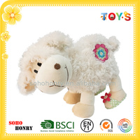 Lovely stuffed walking sheep toy of Yeanling series