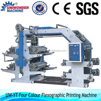 YT Series 4 Color Flexographic Paper Printing Machine