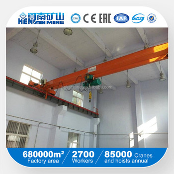 Single girder overhead traveling crane/single girder workshop crane/single overhead crane