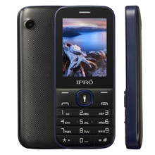 factory high quality IPRO I324F 2.4 inch feature phones 2g Cell Phone With Big Buttons 1000 mAh Torch for Lationamerica