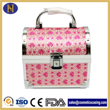 Popular small Aluminum Beauty Case with mirror