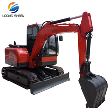 China LOONGSHEEN Construction Machinery 3ton Big Crawler Excavator For sale