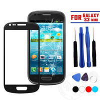 Front Outer Screen Glass Lens Cover Replacement For Samsung Galaxy S3 Mini I8190