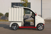 electric mini van for coffee bar pizza delivery car