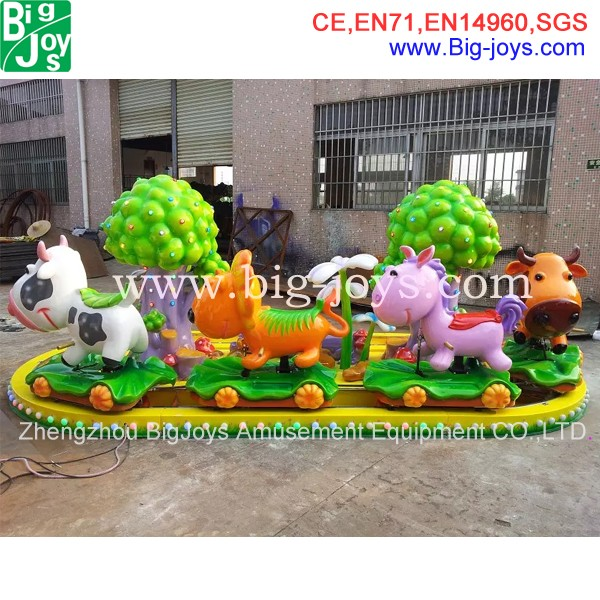 kiddie amusement rides train for shopping mall, indoor kiddie amusement train ride