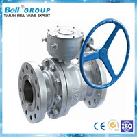 35 inch Manual Flange ball valve drawing