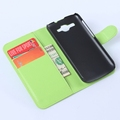 Durable promotional for huawei y520 wallet leather case