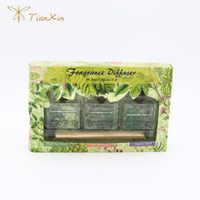 green box scented air fresheners reed diffusers set