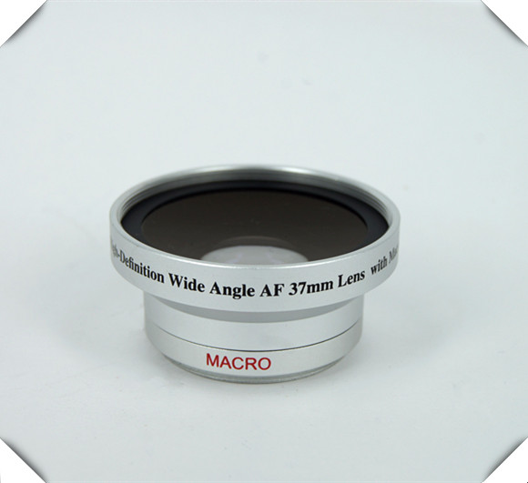 37mm Digital High Definition 0.45X Super Wide Angle Lens & Macro Lens For Camera