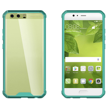Cell Phone Parts 2 in 1 PC + TPU Air Hybrid Combo Case For Huawei P10 Plus