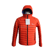 Duck Feather Winter Down Jacket For Men with hood
