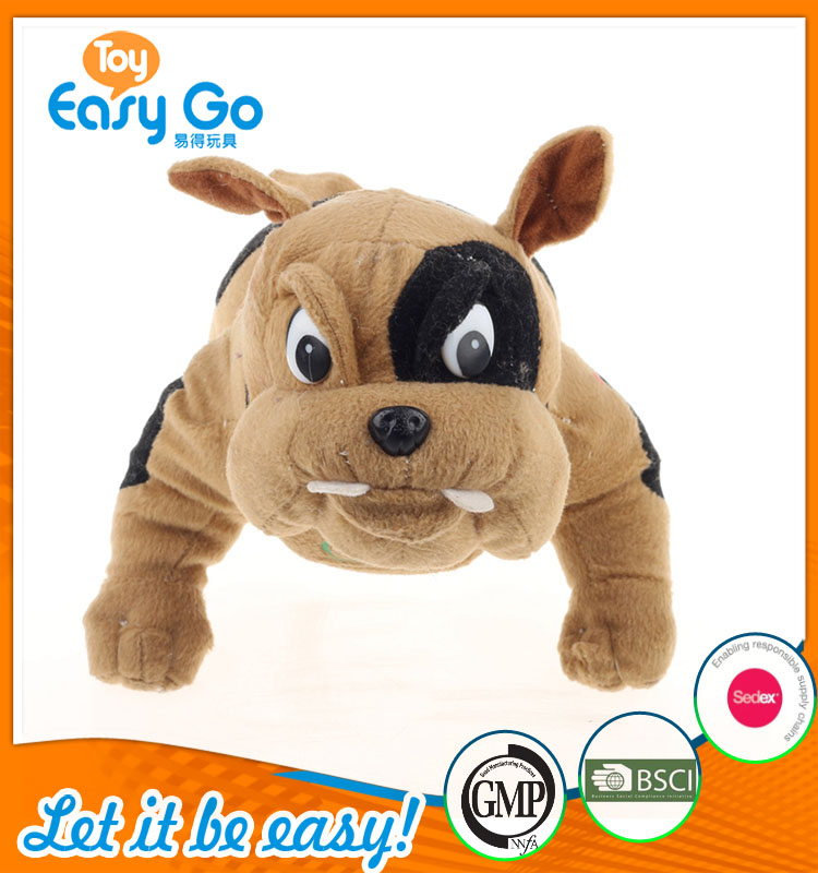 stuffed soft plush with big eyes fierce dog toys