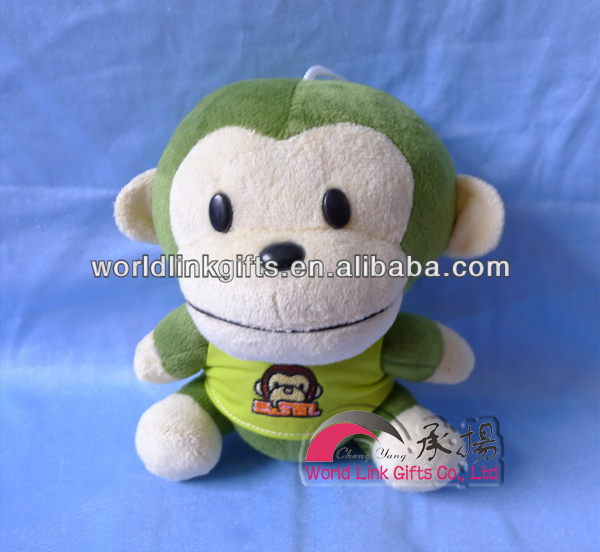 Plush toys big mouth monkey