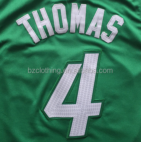 Boston Isaiah Thomas #4 Christmas Edition Green Stitched National Basketball Jersey