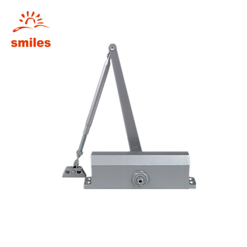 Hydraulic Cushion Automatic Door Closer 90 Degree location,Aluminum alloy Material