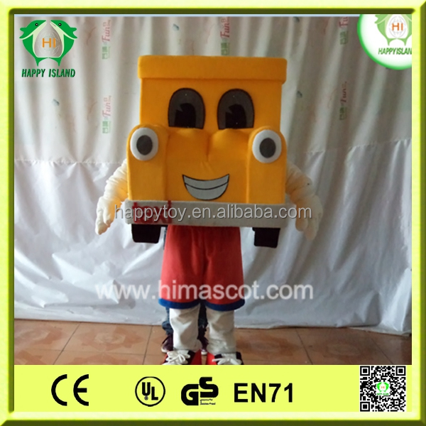 Funny toy!!! HI hot sale cartoon character Car mascot costume for sale