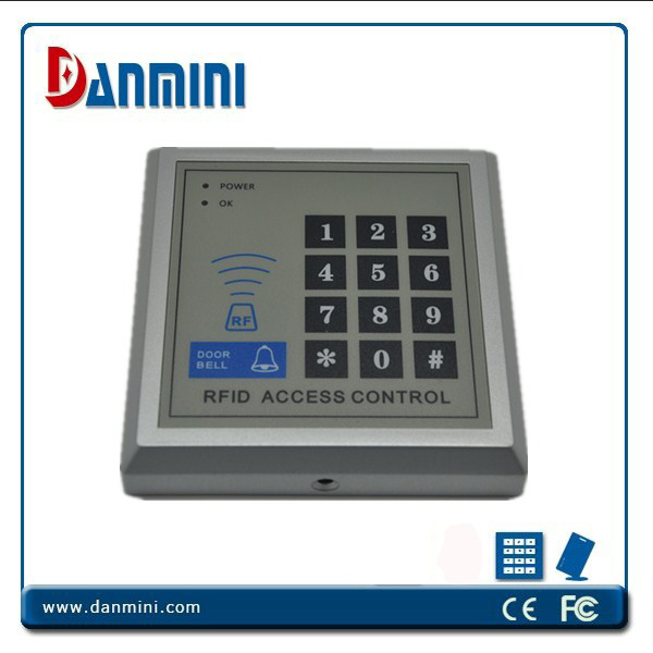 Access control Kit,EM keypad access control+power+Electric Lock+exit button +ID key fob