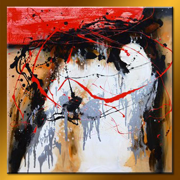 Wholesale Handmade Famous Modern Abstract Watercolor Paintings