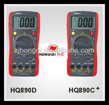 HQ890D/HQ890C + digital multimeter specifications