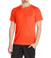 OEM Men's Short Sleeve Tee 80% Polyester 20% Cotton Round neck Tee Plain color tops
