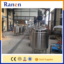 Food grade stainless steel cheese mixing tank with agitator