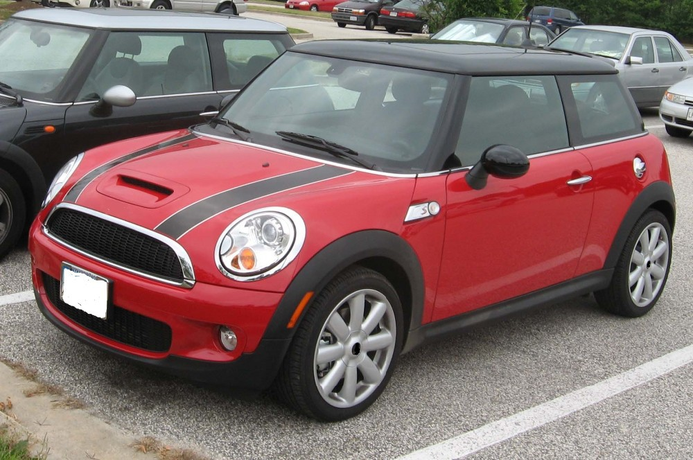 AUTO BODY KIT FRONT BUMPER+REAR BUMPER+SIDE SKIRTS+GRILLE+SPOILER+HOOD VENT FOR MINI COOPER R56 S