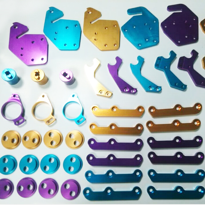 Custom made anodized aluminum part,precision cnc turning parts ISO9001 Passed