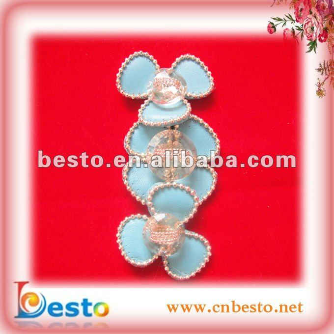 SF0131 Guangzhou wholesale shine sandal ornaments for girl